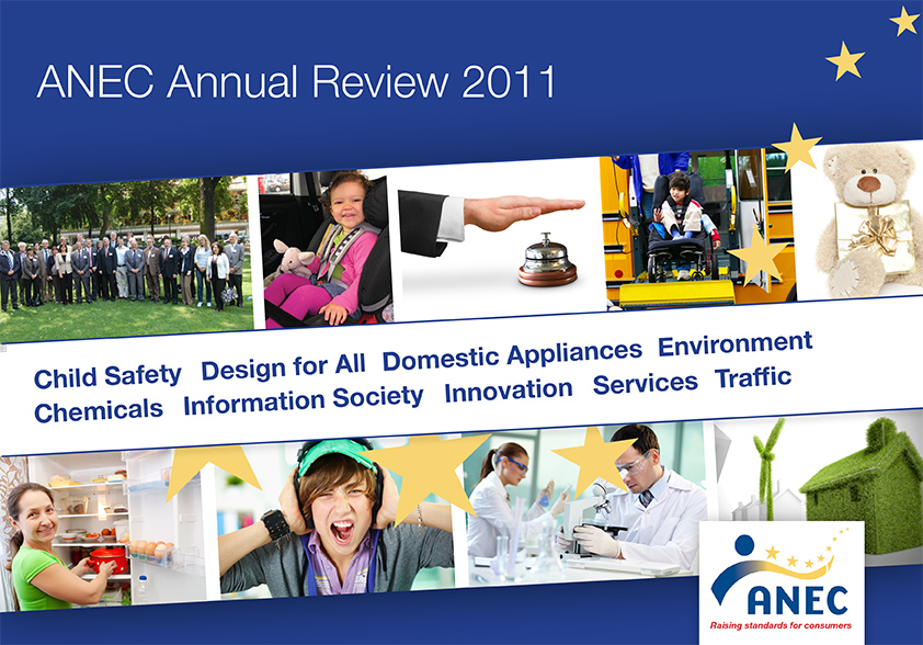 ANEC Annual Review 2011 cover