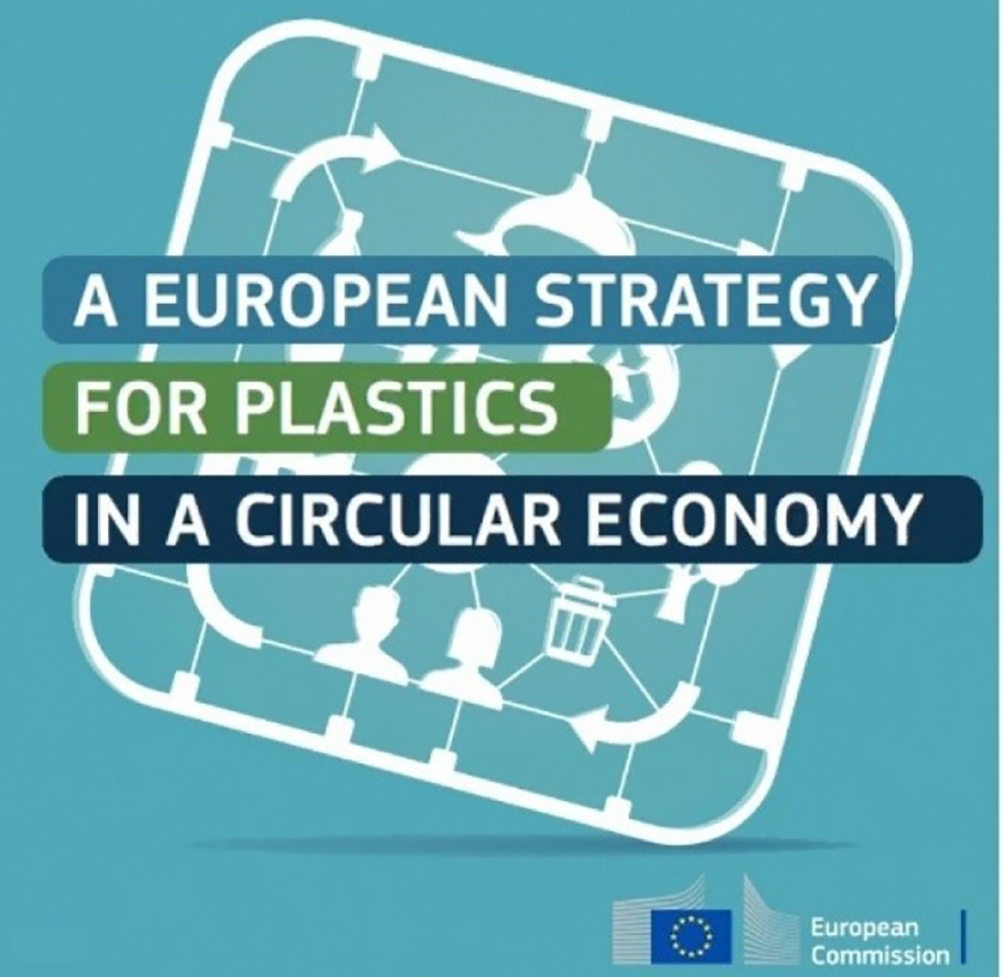 Logo for EU strategy for plastics