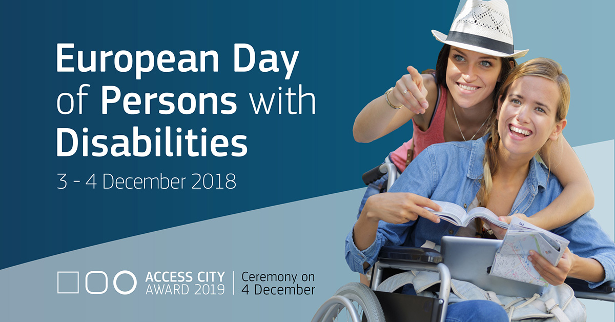 Poster of European Day of persons with disabilities